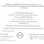 Diploma di Specializzazione in Psicoterapia